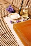 przygotowania kwitnie oleju mydło zdjęcia royalty free