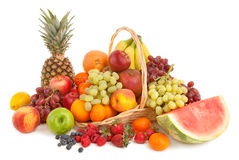 przygotowania owoc Obrazy Royalty Free