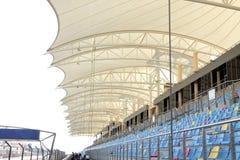 przygotowania piękny główny miejsca siedzące cienia standn Obrazy Royalty Free