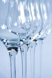 przygotowania szczegółu szklany makro- wino Obrazy Royalty Free
