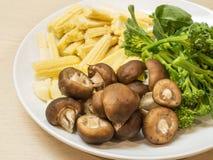 Przygotowania warzywo dla gotować Fotografia Royalty Free