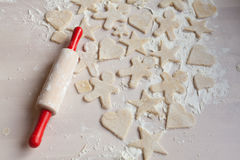 Przygotowanie ciast ciastka Zdjęcia Stock