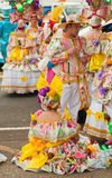 Przygotowanie dla karnawałowej parady, Santa Cruz, 2013 Obrazy Royalty Free