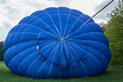 Przygotowanie dla wodowanie balon Zdjęcia Stock