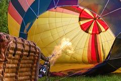 Przygotowanie dla wodowanie balon Zdjęcie Stock