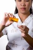 przygotowanie lekarstw Zdjęcia Stock