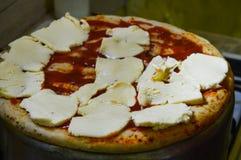 Przygotowanie pizza Fotografia Stock
