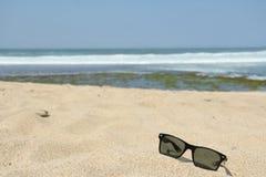 Przygotowanie sunbathing na plaży Obrazy Stock