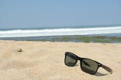Przygotowanie sunbathing na plaży Obraz Stock