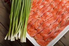 Przygotowanie szwedzi ryba piec pudding Zdjęcie Royalty Free