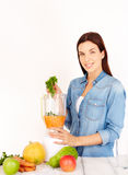 przygotowanie zdrowe jedzenie Zdjęcie Royalty Free