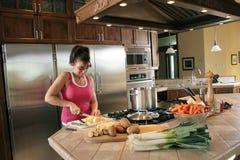 przygotowanie zupy Fotografia Stock