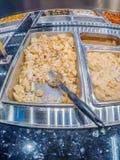 Przygotowany ciepły jedzenie bar Obrazy Royalty Free