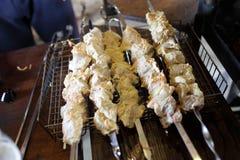 Przygotowany mięso dla piec na grillu obrazy royalty free