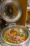 Przygotowany wyśmienicie posiłek dla bufeta gościa restauracji zdjęcie royalty free