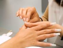 Przygotowywać manicure obraz stock