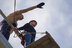 Przygotowywać skakać puszek Fotografia Royalty Free