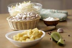 Przygotowywać dla Pud Tajlandzkiego kucharstwa Zdjęcie Stock
