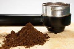 Przygotowywa kawę espresso Fotografia Royalty Free