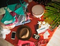 Przygotowywający dla wakacji letnich Zdjęcia Stock
