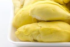 Przygotowywający jeść Durian królewiątko owoc w Tajlandia obraz royalty free
