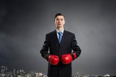 Przygotowywający walczyć dla sukcesu Obraz Stock