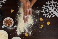 Przygotowywający dla ciasta Obraz Royalty Free