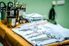 Przygotowywający dla use medycznych instrumentów Zdjęcia Royalty Free
