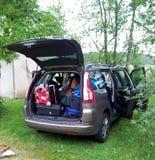 Przygotowywający dla wycieczki samochodowej Obraz Stock