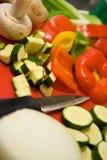 przygotowywanie żywności Obrazy Stock