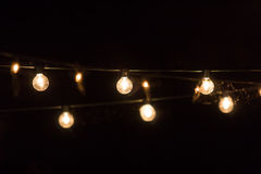 Przyjęć światła Zdjęcia Stock