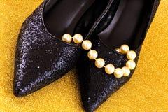 Przyjęcie buty Fotografia Royalty Free