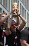 Przyjęcie dla Niemieckiej futbolowej światowej mistrz drużyny w Berlin Fotografia Royalty Free