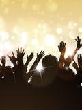 Przyjęcie gwiazdkowe tłum