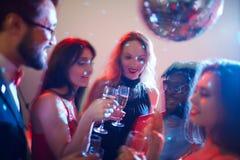 Przyjęcie z szampanem obraz royalty free