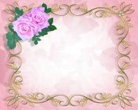 przyjęcie zaproszenia na ślub Obrazy Royalty Free