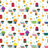 Przyjęcia i wakacje wzór Fotografia Stock