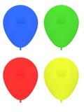 Przyjęcie balony Fotografia Royalty Free