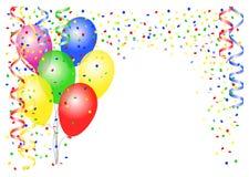 Przyjęcie balony Zdjęcie Stock