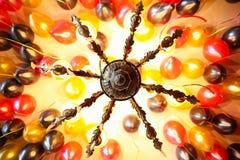 Przyjęcie balony na sufitu wzoru teksturze zdjęcie royalty free