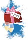 przyjęcie nowego roku ilustracja wektor