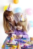 przyjęcie urodzinowe Fotografia Stock