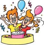 przyjęcie urodzinowe Obraz Stock
