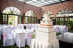 Przyjęcie weselne Zdjęcie Royalty Free