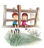 przyjaźń Ilustracja Wektor