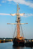 Przyjaźń statek zdjęcie royalty free