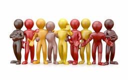 przyjaźni grupy ludzie pracy zespołowej Zdjęcia Stock