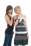przyjaźni nastolatka kobiety Zdjęcia Stock