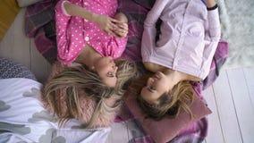 Przyjaciela bff rozmowy bliskości dziewczyn czas wolny zbiory wideo