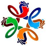 przyjaciela logo Zdjęcia Royalty Free